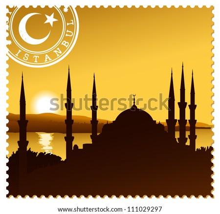 istanbul illustration