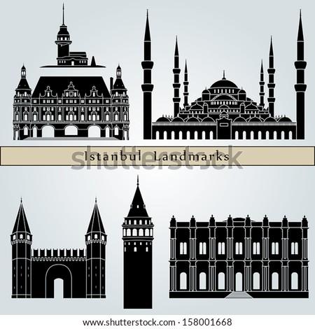istanbul landmarks and