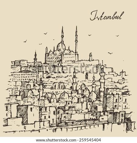 istanbul  turkey  city
