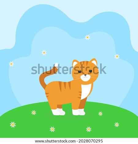it is a walking cat cute