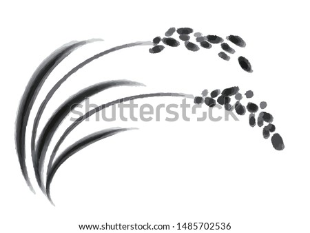it is an illustration of rice