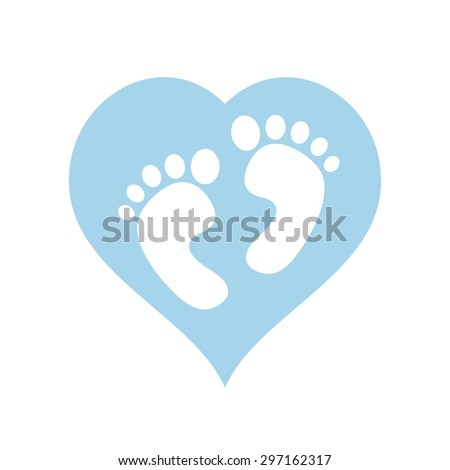 it's a boy baby feet within