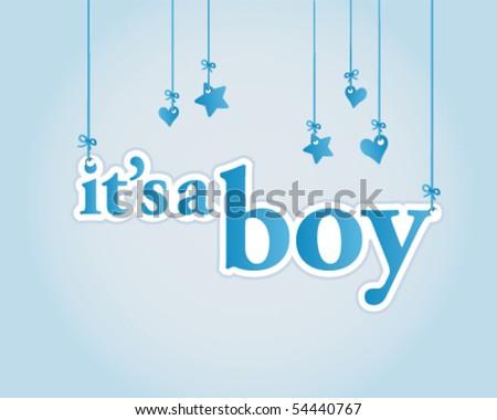 it's a boy baby shower