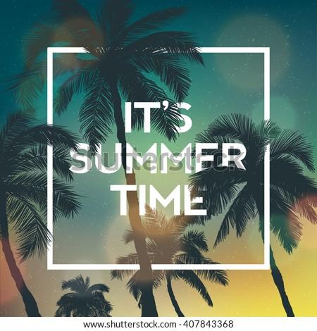 it's summer time wallpaper  fun