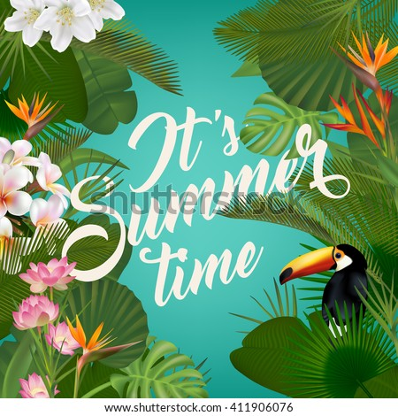 it's summer time wallpaper with