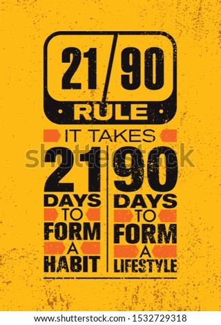 it takes 21 days to form a