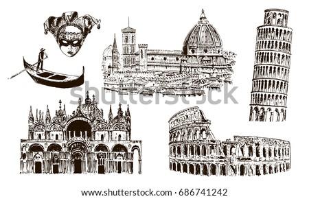 italian architectural symbols ...