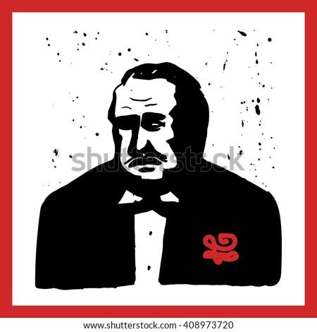 italian mafioso  criminal icon