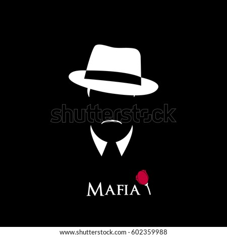 italian mafioso illustration