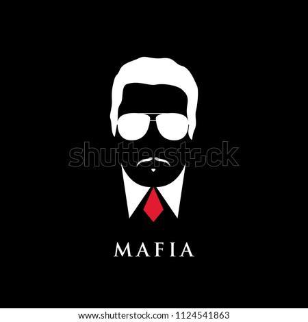 italian mafioso portrait man