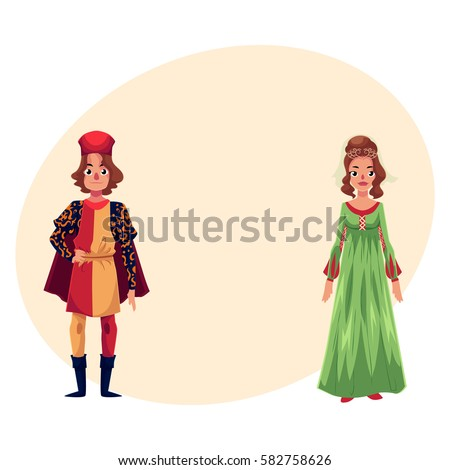 italian man and woman in...