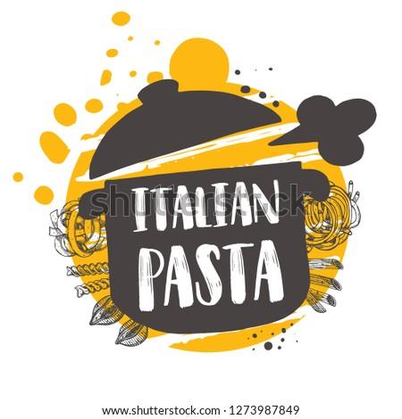 italian pasta concept design