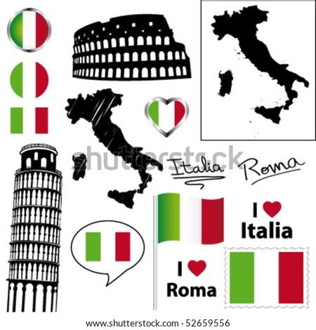 European Culture Element Symbols Click