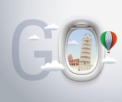 Italy and Pisa, Rome, Colosseum, travel, Landmark