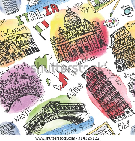 italy famous landmark...