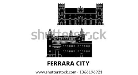 italy  ferrara city flat travel
