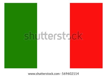 Italy Flag. Italian flag.