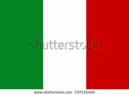 Italy Flag. Official colors and proportion correctly. National Flag of Italy. National Flag of Italy vector illustration. National Flag of Italy vector background. Italyan.