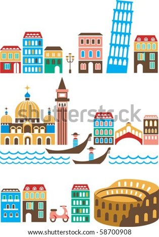 italy   landmarks and