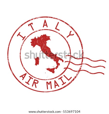 italy post office  air mail ...