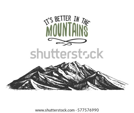 its better in the mountains...