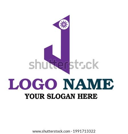 J Letter Logo Company Name