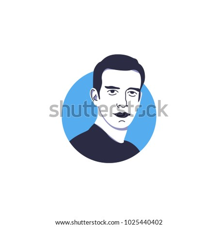 jack dorsey illustration vector