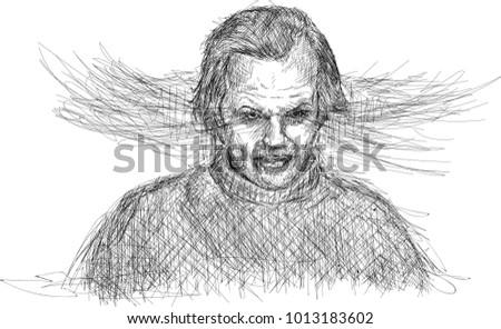 jack nicholson sketch