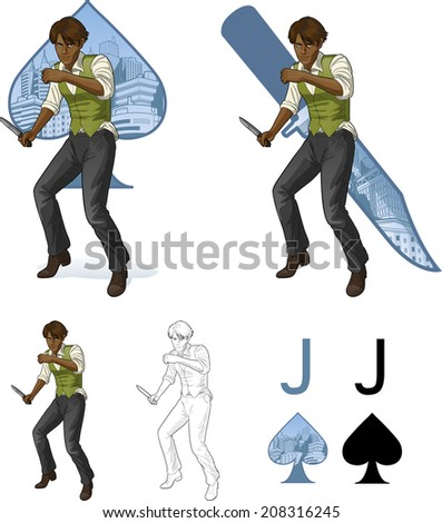 jack of spades afroamerican