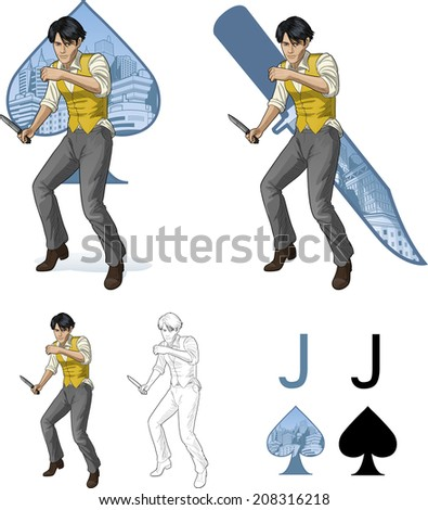 jack of spades asian brawling