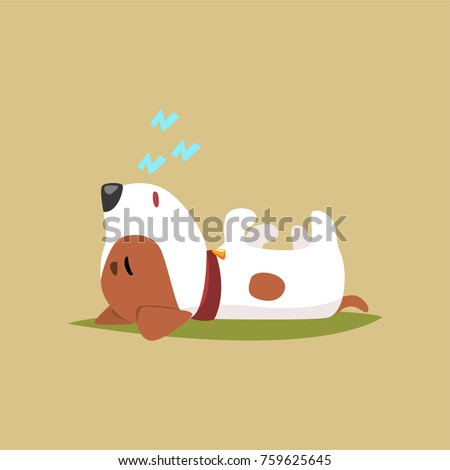 jack russell puppy character