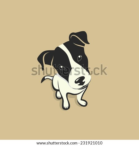 jack russell terrier   vector...