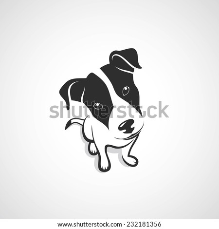 Jack Russell Terrier - vector illustration