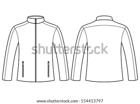 Jacket Template Front