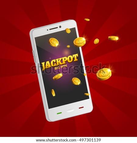 jackpot money smart phone coins