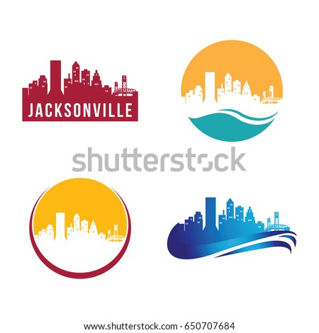 Jacksonville City Landscape Logo Template