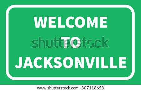 jacksonville road sign