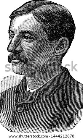 Jacob Schaefer, vintage engraved illustration