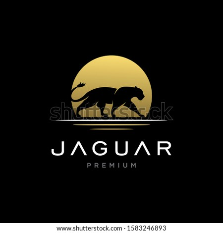 jaguar   cheetah   lion logo