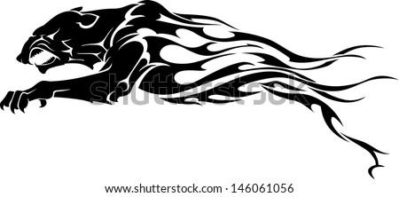 jaguar flame tattoo