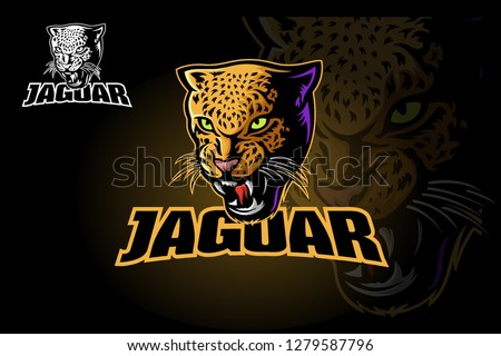 jaguar vector logo template