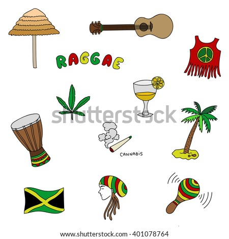 jamaica set or pattern with