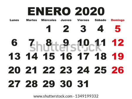 Calendario 2020 2020.Calendario 2020 Free Vector Art 135 Free Downloads