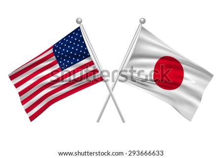 japan american flag