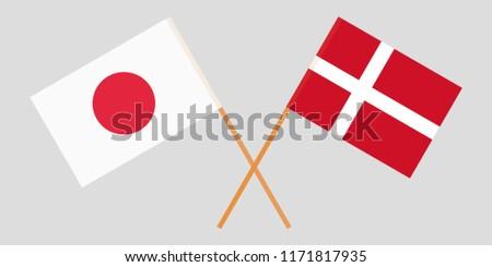 japan and denmark crossed