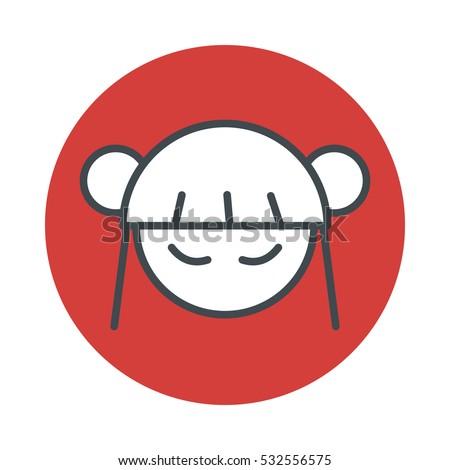 japan anime manga girl icon