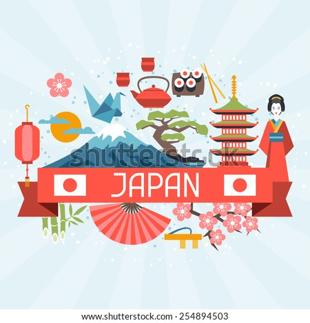 japan background design