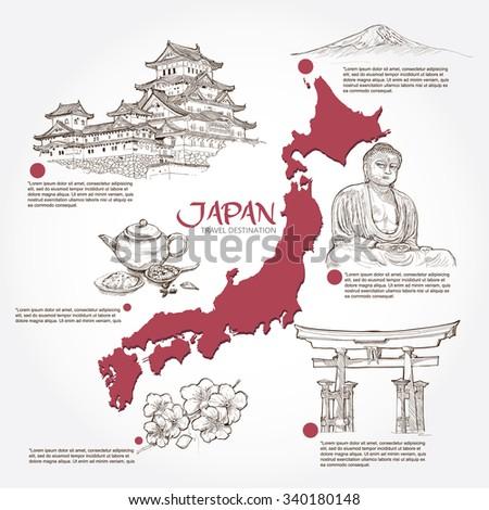 japan background design travel