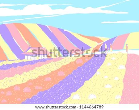 japan countryside landscape