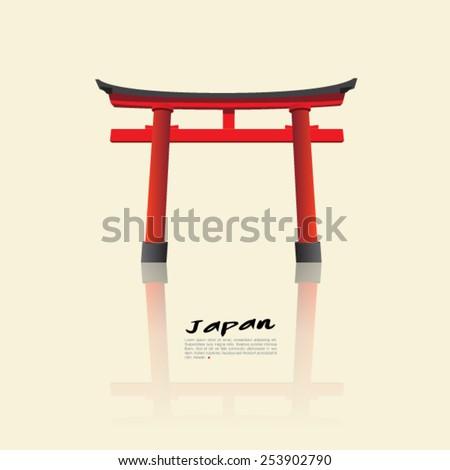 japan gate   torii gate